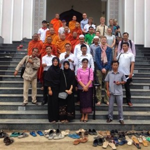 Cambodjanske førstehåndsindtryk og religionsdialog