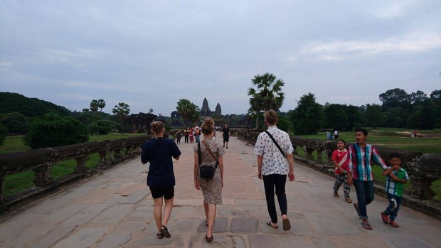 Bag turistlivets skinnende facade