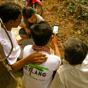 Kan en applikation redde Prey Lang skoven?