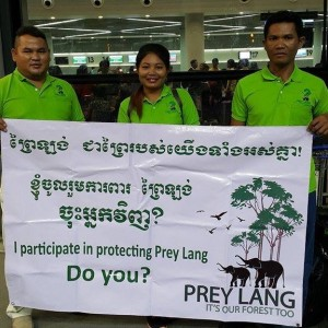 Prey Lang Community Network i Paris
