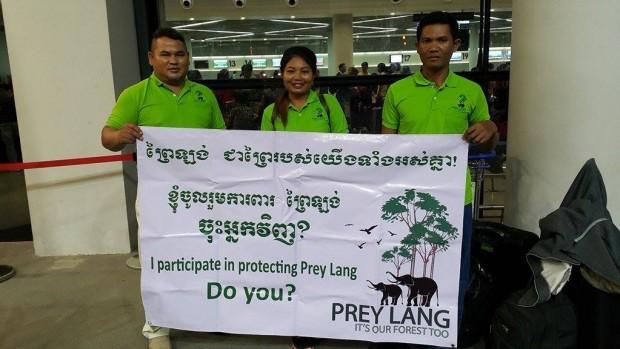 Prey Lang Community Network i Paris