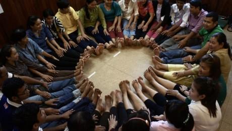 I Siem Reap vil de lære at skabe fred