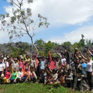 Prey Lang skoven - 3 timers knallertkørsel fra civilisationen