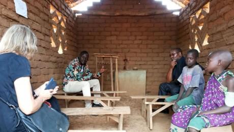 Nyamagana – en lille landsby, langt ude. Du kan ikke slå den op på Google.map 😊