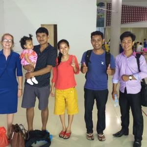 Tilbage i Danmark - men tænker på Cambodja