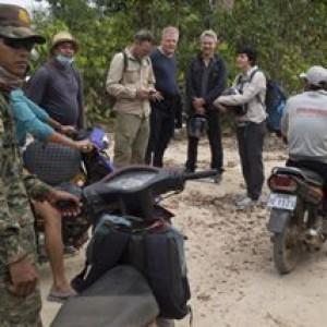 Den første uge i Cambodia